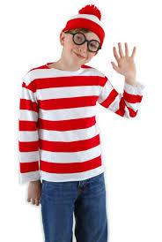where u0027s waldo child costume kit buycostumes com