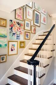 Home Art Gallery Design Love The Idea Of A Photo Wall Going Up The Stairs Of You Home You