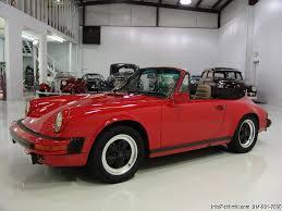 1983 porsche 911 sc convertible 1983 porsche 911sc cabriolet daniel company