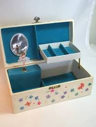 children s jewelry box sweet children s musical jewelry box with drawers by vintagehollow