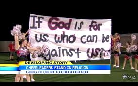 quotes from the bible that promote violence judge rules that kountze high cheerleaders can display