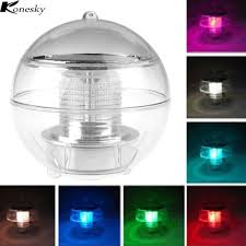 Glass Float String Lights by Online Get Cheap Floating Led Lights Aliexpress Com Alibaba Group