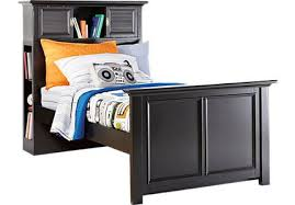 black twin beds for kids