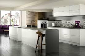 carrelage design cuisine cuisine avec carrelage gris design d int rieur moderne ilot central