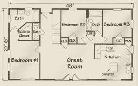 floor plans for 1 story homes the villa lantz modular log homes house plans