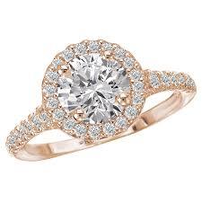 diamond rings com images Halo semi mount diamond ring jerrick 39 s fine jewelry jpg