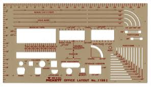 100 office furniture templates for floor plans office