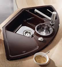 evier en coin pour cuisine un évier bac dans la cuisine nos conseils