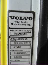 volvo trucks north america inc 2000 volvo wxr semi truck cab and chassis item f4524 sol