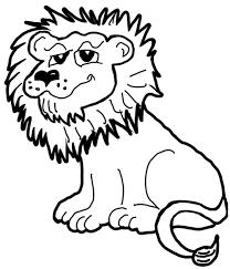 draw cartoon lions jungle animals step step drawing