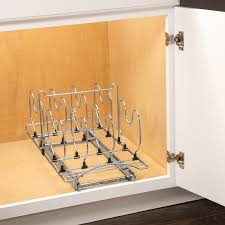 lynk under cabinet storage lynk lynk professional roll out cookware organizer pull out under