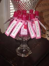 nail baby shower favors baby girl shower favor ideas pink sanitizer with personalize