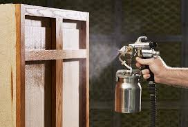 best hvlp for spraying cabinets spray finishing made simple wood magazine
