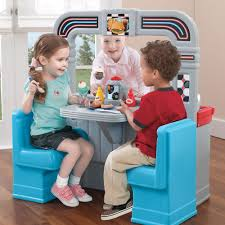 children 50 u0027s diner kids playing with 1950 u0027s inspired play