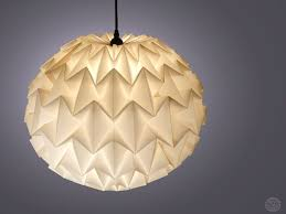 Origami Light Fixture 1322 Best оригами лампа Images On Pinterest Bamboo Lamp Shades