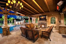 awesome pool and outdoor kitchen designs pictures amazing design