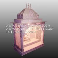 Marble Temple Home Decoration Home Temple Decoration Parag Pednekar Home Ganpati Decoration