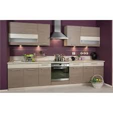 cuisine complete cdiscount cuisine complète 320 cm elise bois moderne achat vente cuisine