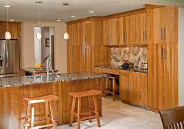 contemporary kitchens designs remodeling htrenovations this contemporary design features a hand cut walnut travertine backsplash american cherry cabinetry three tall pantry storage units an integral desk
