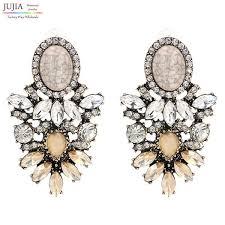 big ear rings jujia trendy big earrings womanocean