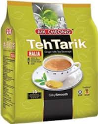 X Teh aik cheong 4 in 1 teh tarik instant milk tea sachets with 15
