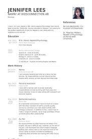 Server Job Description Resume Example by Nanny Responsibilities On Resume Server Job Responsibilities