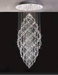 Chandeliers Modern Modern Contemporary High Ceiling K9 Chandelier Pendant