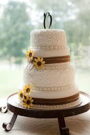 sunflower wedding cake my wedding ideas wedding cake
