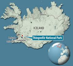 Iceland World Map Aerial Pictures Show Us And European Tectonic Plates In Iceland