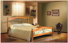 Wood And Iron Bedroom Furniture by Beaten Metal Beds In Bedroom Interior Pros And Cons