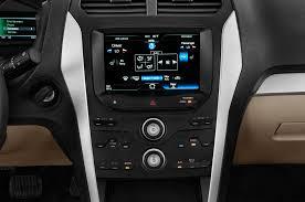 Ford Explorer 2014 - 2014 ford explorer center console interior photo automotive com
