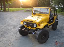 toyota lifted toyota land cruiser fj40 new paint lifted restored great frame