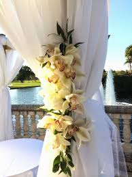 wedding arch gazebo dreamark events wedding ceremony with white flowers gazebo