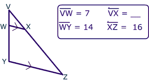 side splitter theorem similar triangles and parallel lines