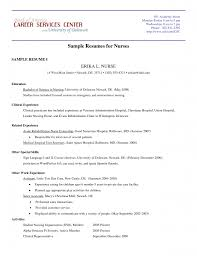 Free Rn Resume Samples by New Grad Rn Resume Examples Resume For Your Job Application
