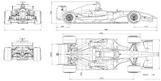 car blueprints dallara gp 208 blueprints vector drawings