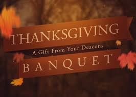 thanksgiving banquet 2017 baptist church