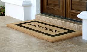 Exterior Door Mat Personalized Door Mats Plus Front Door Mats Outdoor Personalized