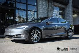 lexus hre wheels tesla model s with 20in hre ff01 wheels exclusively from butler