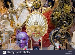 carnival masks for sale ornate masks used at carnival festival displayed for sale in shop