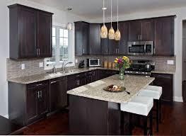 kitchen backsplash with dark cabinets ideas for black 20