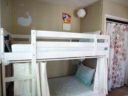 Bunk Bed With Open Bottom Bunk Bed Privacy Curtains Sewingmachinesplus