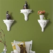 Small Wall Shelf Residential Home European Resin Wall Shelf Decorative Creative