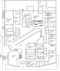 University Floor Plans Visual Arts Building Floor Plans Of Art And Art History