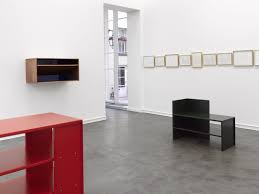 in color donald judd furniture