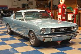 1957 mustang fastback 1966 ford mustang gt fastback light blue a e cars