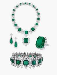 emerald earrings necklace images Diamond necklace earring bracelet set diamond jewellery designs jpg