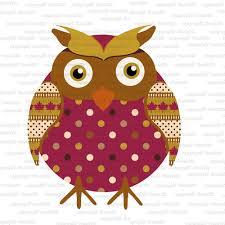owl clipart single commercial use fall autumn owl
