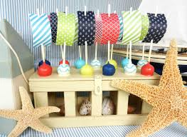 Nautical Baby Shower Centerpieces by Photo Handmade Nautical Baby Shower Image