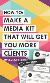 74 best blogging media kit images on pinterest a medium blog